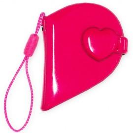 10 Mini Album Coeur, couleur rose (petit)