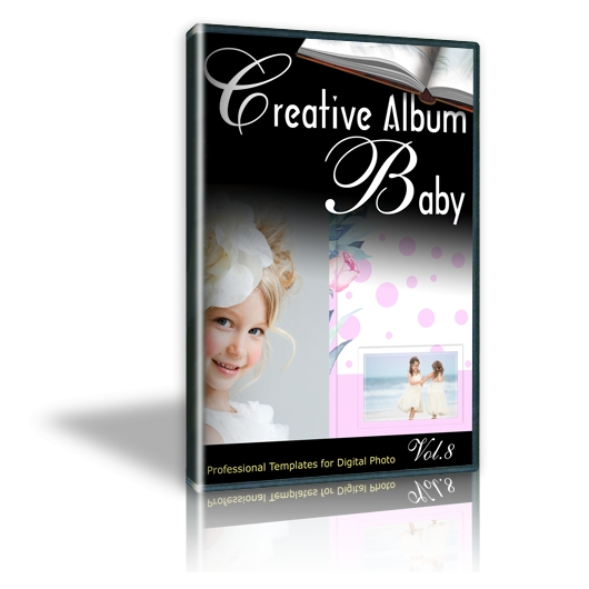 Creative Album Baby Vol. 8