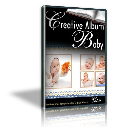 Creative Album Baby Vol. 9