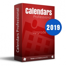 Calendars Pro 2019 Win-Mac Upgrade