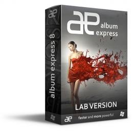 Album Express 8 Win-Mac LAB (Desktop designer)