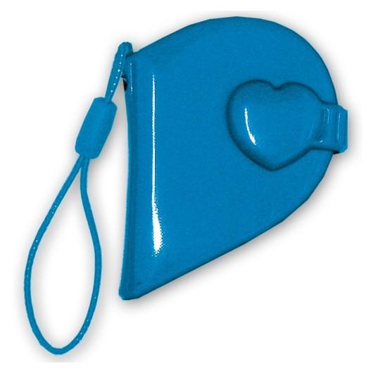 10 Mini Album Covers Blue Heart (klein)