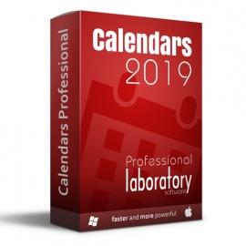 Calendars Professional 2019 Win-Mac LAB