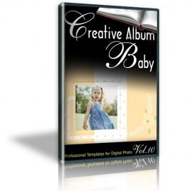 Creative Album Baby Vol. 10
