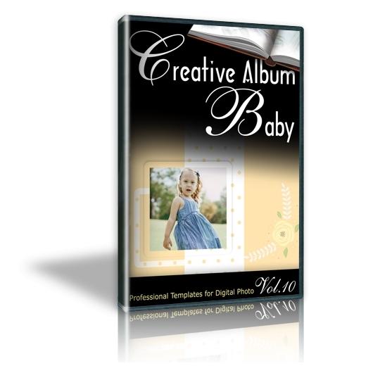 Creative Album Baby Vol. 10