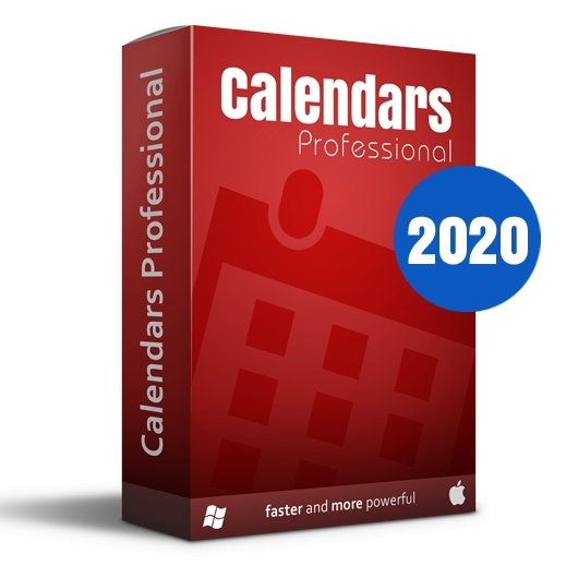 Calendars Pro 2020 Full Win-Mac