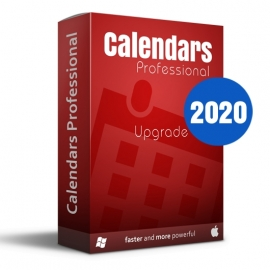 Calendars Pro 2020 Win-Mac Upgrade