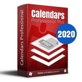 Calendars Plus 2020 Full Win-Mac