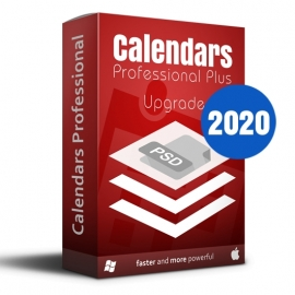 Calendars Plus 2020 Upgrade Win-Mac