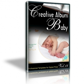 Creative Album Baby Vol. 18