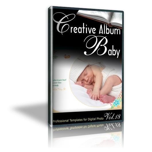 Creative Album Baby Vol. 18