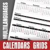 Calendar Data Grids 2020