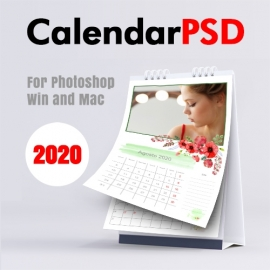 Calendário Mensal 2020 n.1
