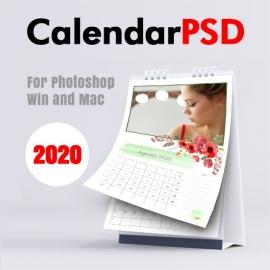 Monatlicher Kalender 2020 n.1