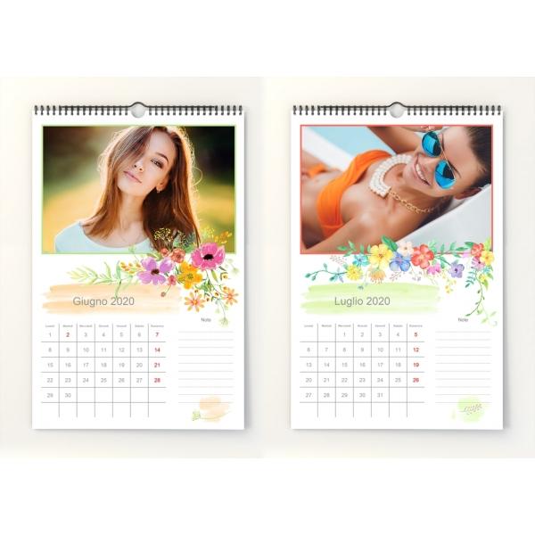 Calendario Mese Giugno 2020.Calendario Mensile 2020 N 1