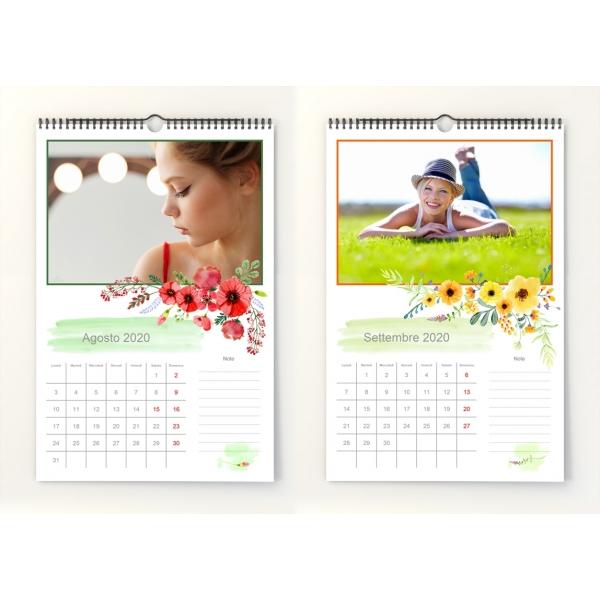 Calendario Mensile Settembre 2020.Calendario Mensile 2020 N 1
