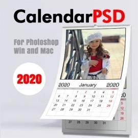 Calendrier Mensuel 2020 n.2