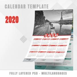 Calendar Template 2020 n.3
