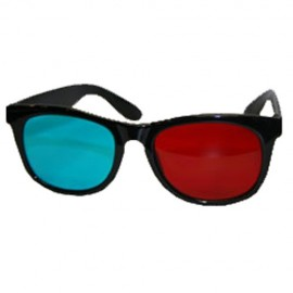 Plastic Anaglyph 3D-Brille