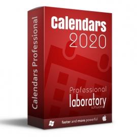 Calendars Professional 2020 Win-Mac LAB