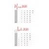 Calendar Data Grids 2020 v.2