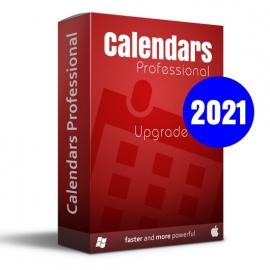 Calendars Pro 2021 Win-Mac Upgrade