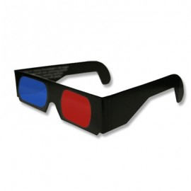 Gafas Anaglifo 3D de papel.