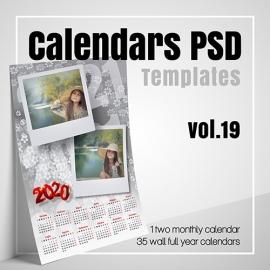 Calendars 2021 PSD v.18
