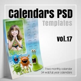 Calendars 2021 PSD v.17