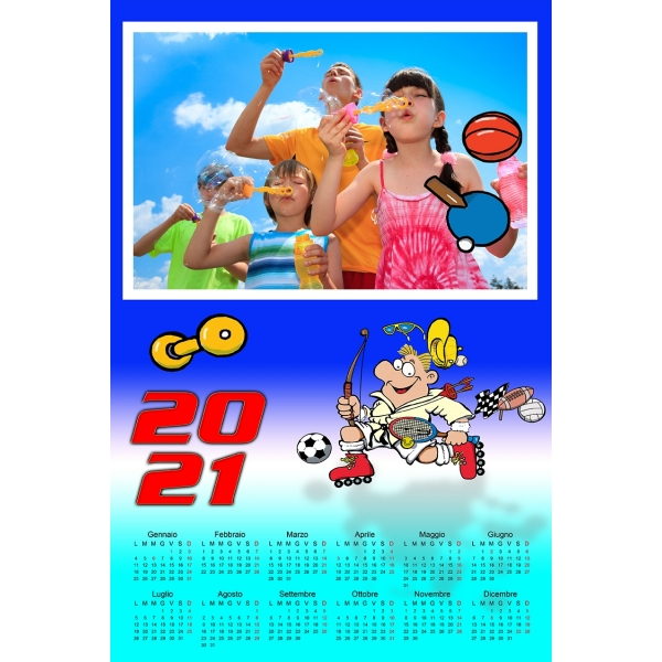 Calendars 2021 PSD v.14