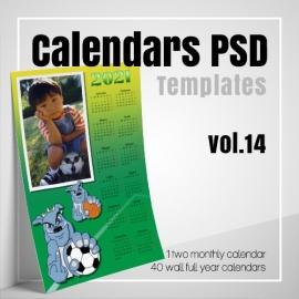 Calendars 2022 PSD v.14