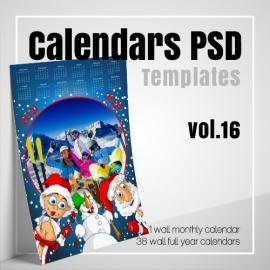 Calendars 2022 PSD v.16
