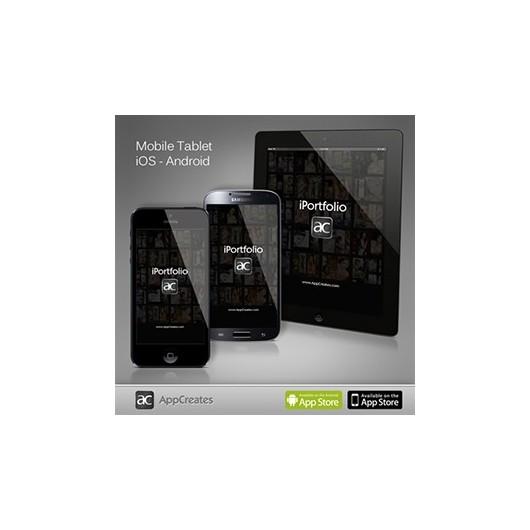 iPortfolio pour Android - iOS