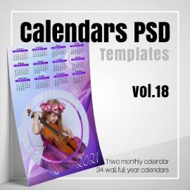 Calendars 2022 PSD v.18