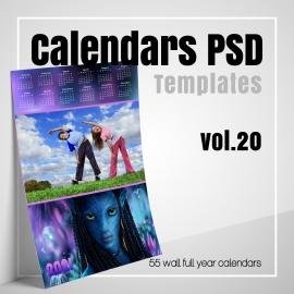 Calendars 2022 PSD v.20