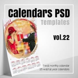 Calendars 2022 PSD v.22