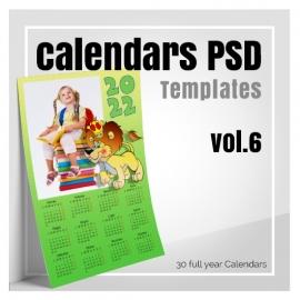 Calendars 2022 PSD v.6