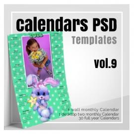 Calendars 2022 PSD v.9