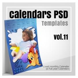 Calendars 2022 PSD v.11