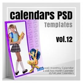 Calendars 2022 PSD v.12