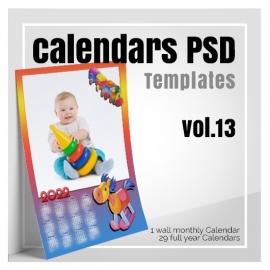 Calendars 2022 PSD v.13