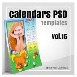 Calendars 2022 PSD v.15
