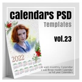 Calendars 2022 PSD v.23