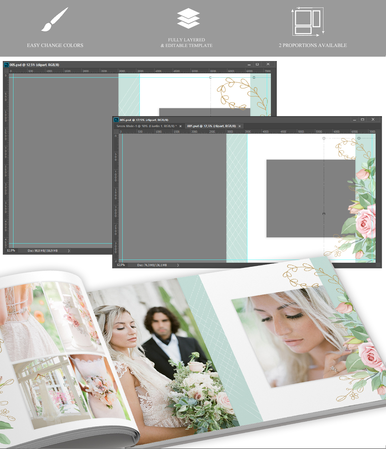 Creative Album v.37 - photo album templates
