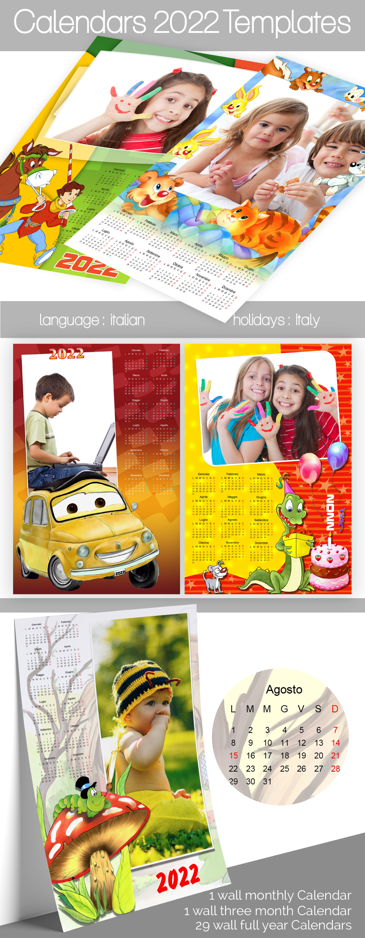 Calendar 2022 Templates