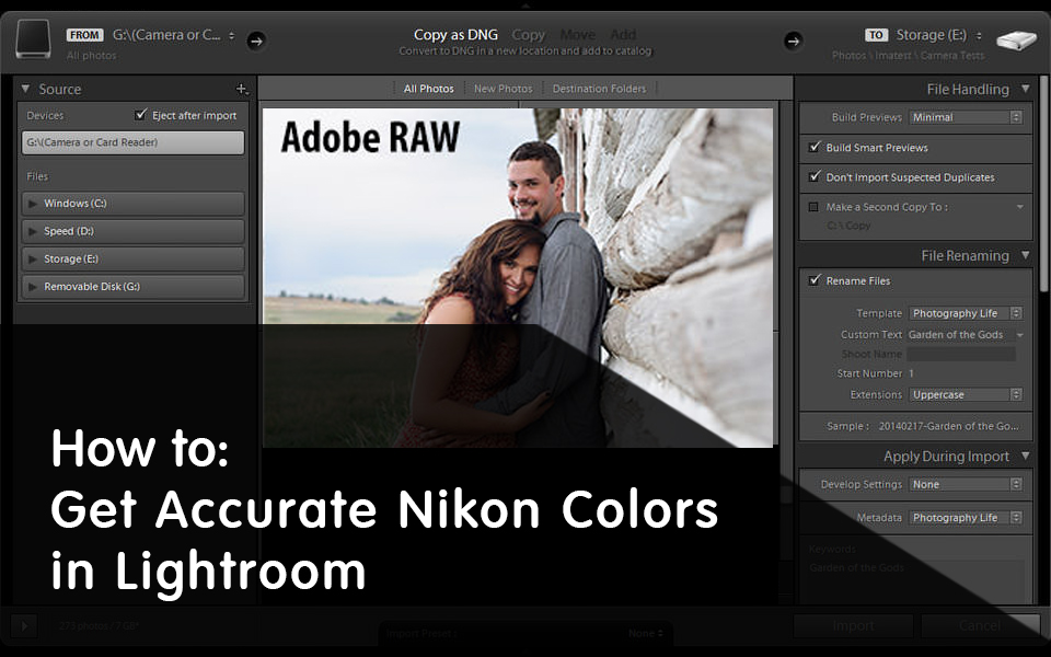 How to Get Accurate Nikon Colors in Lightroom